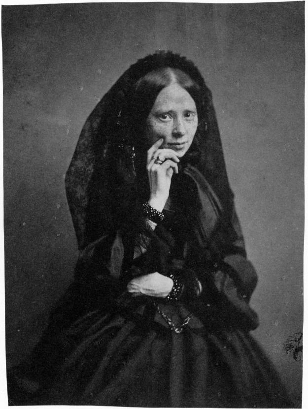 Mlle de baste c 1855