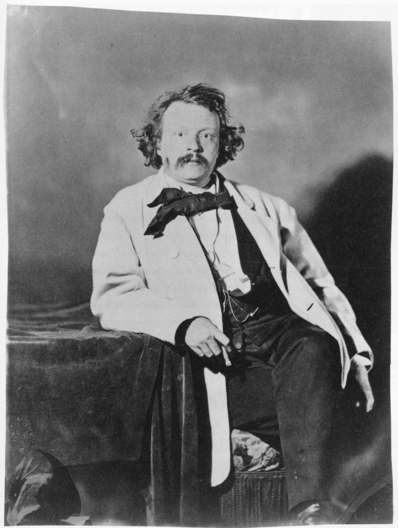 Nadar in artificial light c 1859
