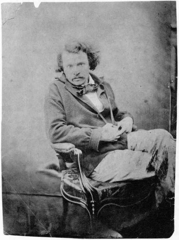 Nadar self portrait 1854