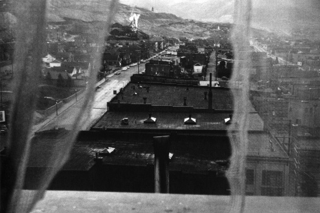 26. View from hotel window - Butte, Montana, 1956
