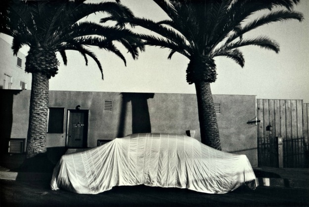34. Covered Car-Long Beach, California 1956
