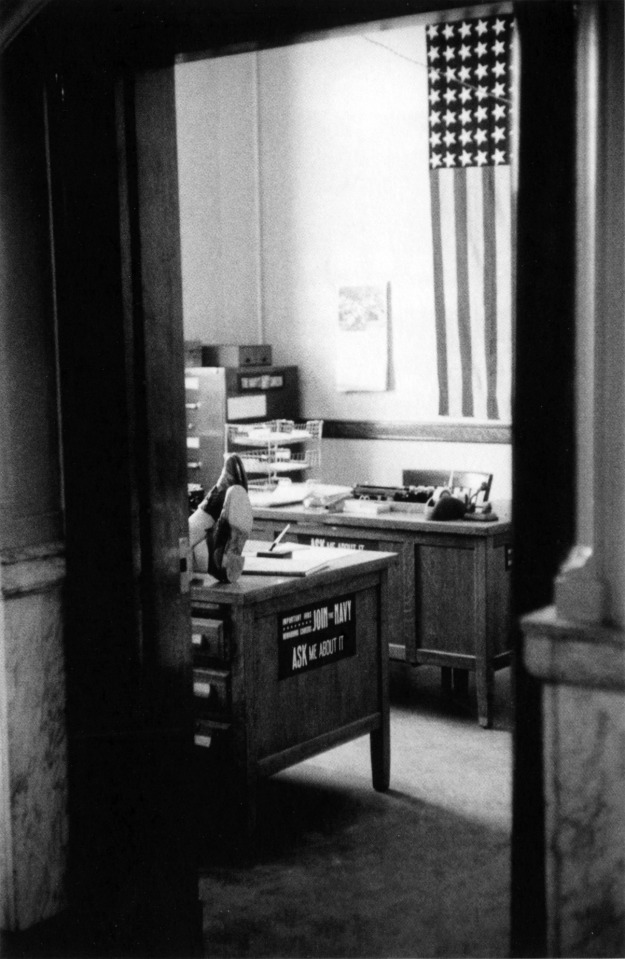 7. Navy Recruiting Station, Post Office-Butte Montana 1956
