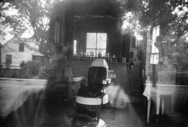 #38 Barber shop through screen door-McClellanville, SC 1