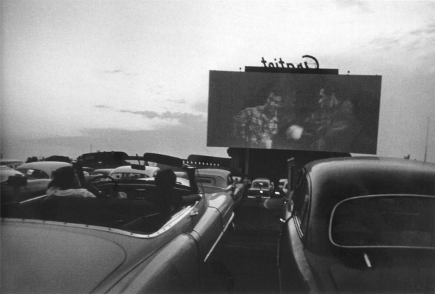 #46 Drive-in movie - Detroit, 1955