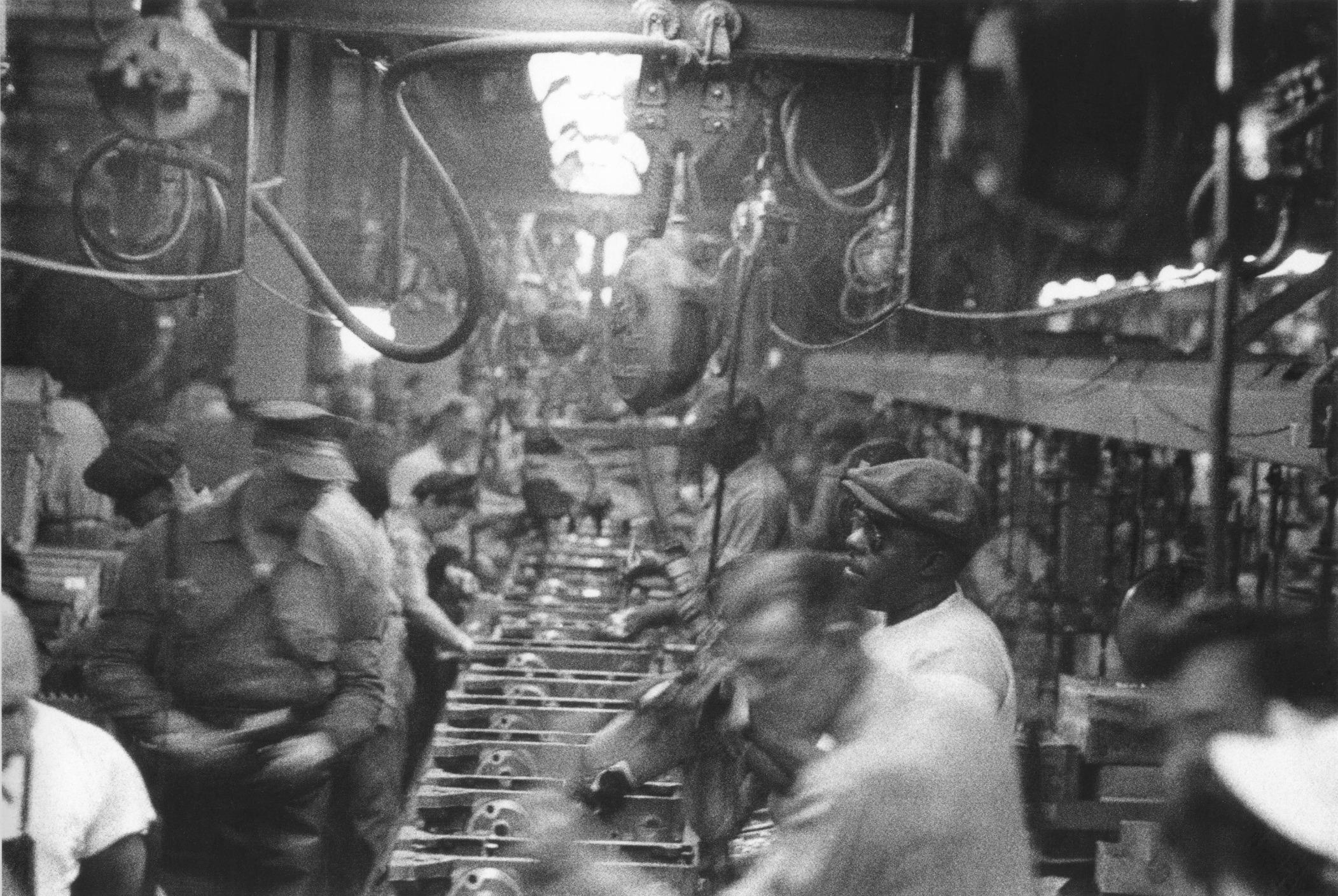 #50 Assembly line - Detroit, 1955