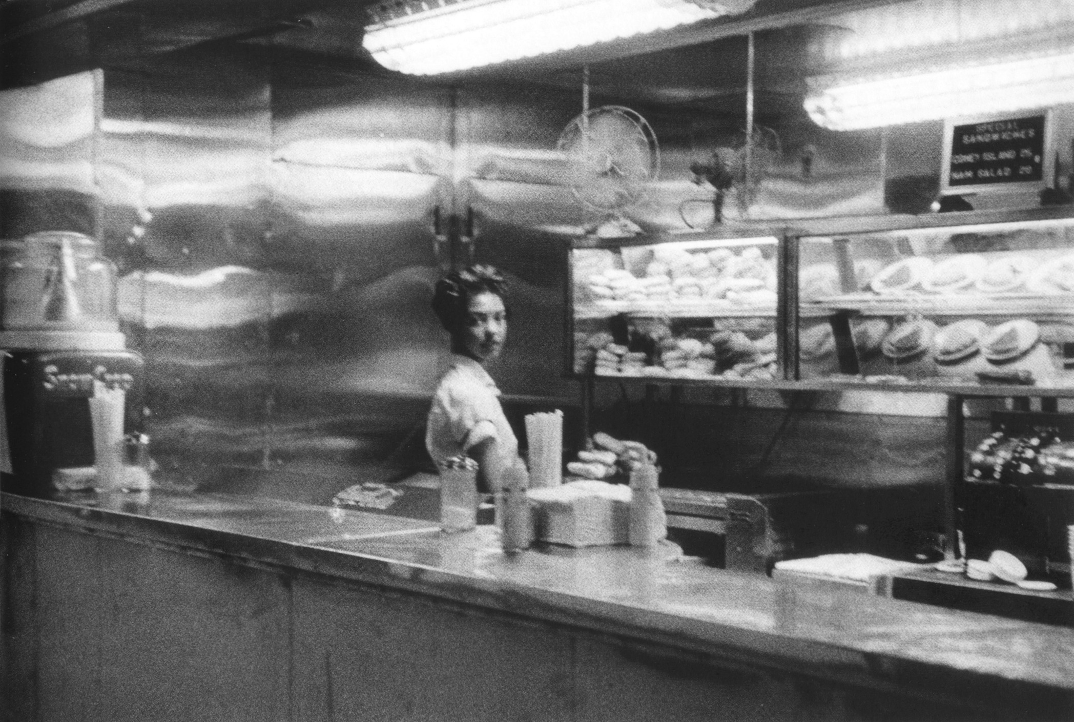 #70 Coffee shop, railway station-Indianapolis, 1956