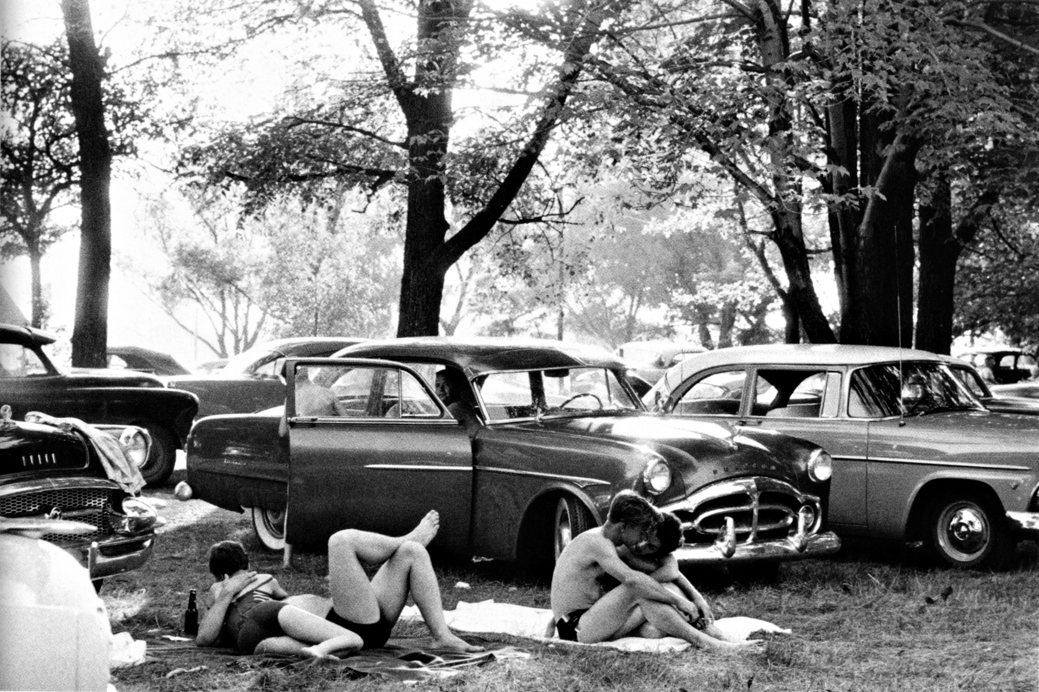 #80 Public park - Ann Arbor, Michigan, 1955