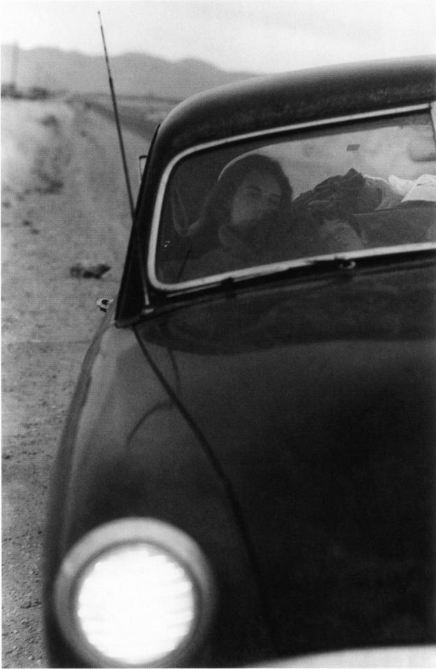 #83 U.S. 90, en route to Del Rio, Texas, 1955